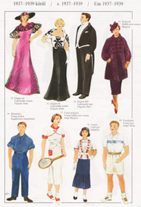 costumes from 1937
